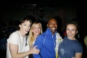 Kevin Cahoon and Laura Benanti with Ashley Amber Haase and T. Oliver Reid (WEDDING SINGER - Gypsy Robe Winner)
