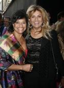 Debbie Allen and Suzanne DePasse