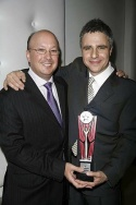 Neil Pepe and Andrew D. Hamingson (Outstanding Body of Work - Atlantic Theatre Compan Photo