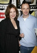 Margaret Colin and Brian F. O'Byrne Photo