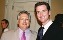 Harvey Fierstein and Hon. Gavin Newsom (Mayor of San Francisco)