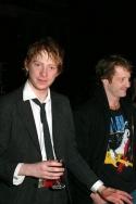 Domhnall Gleeson and David Wilmot
