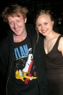 David Wilmot and Alison Pill