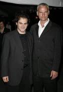 Martin McDonagh and Michael Stuhlbarg Photo