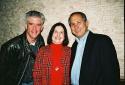 Gregory Jbara with Marcia and Steve Diamond Photo