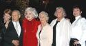 Producer Karen G. Cadle, Carol, Harry Kullijian (Carol's childhood sweetheart), Cloris Leachman, Tyne Daly and Toni Morrell