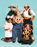 "The cast of TheatreworksUSA's free summer theater offering, ""IF YOU GIVE A MOUSE
