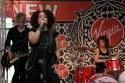 Eric Hauptman (Guitar), Stephanie Lippman (aka Militia) Vocals, and LaFrae Scy (Dummer/Music Director)
