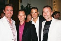 Parker Williams, Brian Pendleton, Joel Wyatt (Trevor Project, Development Director) and Chad Goldman