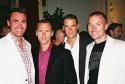 Parker Williams, Brian Pendleton, Joel Wyatt (Trevor Project, Development Director) and Chad Goldman