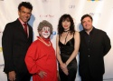 Brian Stokes Mitchell, Bebe Neuwirth, Nathan Lane, and Barry Lubin as Grandma the Clown
