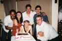 Rodney Hicks, Natascia Diaz, Gay Marshall, Robert Cuccioli and Eric Svejcar and Dan Whitten (Producer)