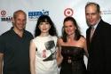 John Tisch, Bebe Neuwirth, Cristyne Nicholas and Jed Bernstein
