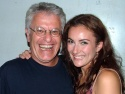 Laura with Jerry Zaks who will next tackle the revival of La Cage Aux Folles Photo