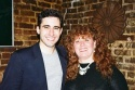 John Lloyd Young and Katie Agresta (Vocal Coach)