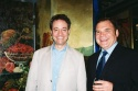 Mark Sendroff and Forbidden Broadway creator Gerard Alessandrini