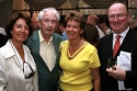 Ellen McCourt, Frank McCourt, Liza O'Connor, and Seamus O'Grady   Photo