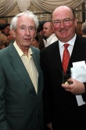 Frank McCourt and Seamus O'Grady Photo