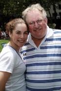 Britt and Charles Shubow (Baltimore regional writer for BroadwayWorld) Photo