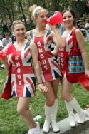 Shout! Squad: Holly Burton, Lauren Ruff and Katie Johnston