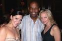 Shoshana Bean and Paige Price with Grammy-winner and arts supporter Earl Klugh