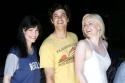 Idina Menzel, Adam Garcia and Helen Dallimore