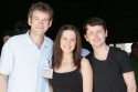 Martin Ball, Katie Rowley Jones and James Gillan
