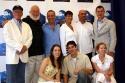 Back: Back: Eugene Lee, Frank Galati, Mark Dendy, Tara Young, Juliian Kelly, Martin P Photo