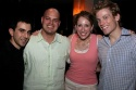 Michael Cooper, Jayson Raitt, Courtney Balan, and Barrett Foa