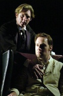 Adrian Dunbar and Peter McDonald