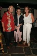 Phil Smith, Jimmy Nederlander, and Kristina Nederlander