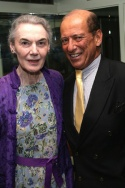 Marian Seldes and Lee Elman