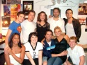 A bunch of the cast backstage before the show Photo
