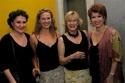 Nora Mae Lyng, Carolyn Kozlowski, Joy Franz and Donna McKechnie