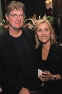 Richard Cohen and Meredith Vieira Photo