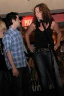 "Ben Rauch and Kathleen McCann singing ""Superheroes"" from Emerald Man Photo"