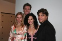 Kerry Butler (NYMF, Party Come Here), Erich Bergen (NYMF, Warrior), Sherrie Austin (NYMF, Warrior), and Deven May (NYMF, Warrior)