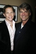 Jack Noseworthy and casting director Kerry Barden