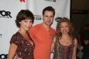 Guiding Light's Michelle Ray Smith, John Driscoll and Nicole Forester