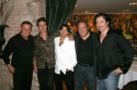 Machiavelli after party: Marvin Scott (CW11 News), John Shea, Director Evan Bergman,  Photo