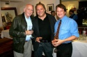 "Dominic Chianese (who plays Uncle Jr. on ""The Sopranos""), playwright Richard Vetere (center) and Chip Philllips"