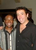Jeffrey Polk and Costume Designer Tommy Marquez  Photo