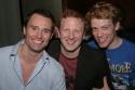 Brad Anderson, Hunter Bell and Barrett Foa Photo
