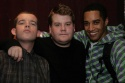 Russell Tovey, James Corden and Samuel Anderson