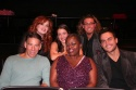Katie Thompson, Jaclyn Huberman, Jamieson Lindenburg, Stephen Schwartz, Lillias White and Cheyenne Jackson