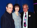 Buddy Mantia, Barbara Feldon and Tim Jerome (Festival President)