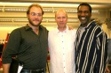 Alexander Gemignani, co-director John Caird and Norm Lewis