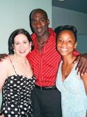 Stephanie, David St. Louis and Anika Noni Rose Photo