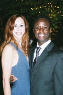 Heather Parcells (Judy) and James T. Lane (Richie)
