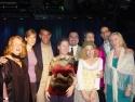 Mitchell with members of NYSTA's board of directors, from left: Nancy Adams, Lisa Hogan, Katherine Hoffman, David Sabella-Mills, Dora Ohrenstein, Paula Liscio, Daniel James Shigo and Janet Pranschke.